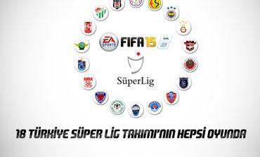 FIFA 15'e Türkiye Süper Lig'i de eklendi!