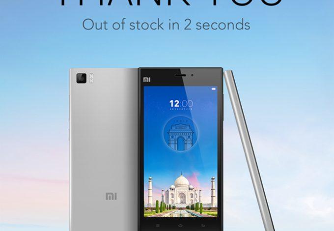 Xiaomi yine yaptı yapacağını: 2 dakikada 15.000 akıllı telefon satışı