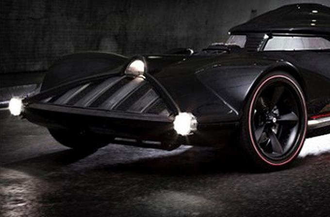 Video: Batmobile'e yeni rakip Darthcar