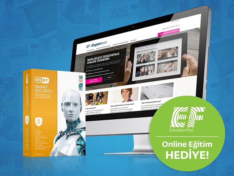 49 Euro değerinde 1 aylık online İngilizce eğitimi hediye