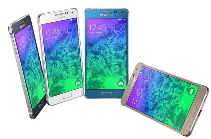 Metal çerçeveler ve en ince Galaxy modeli: Samsung Galaxy Alpha duyuruldu!