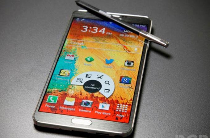 Exynos 5433 işlemcili Galaxy Note 4'ün Benchmark skorları