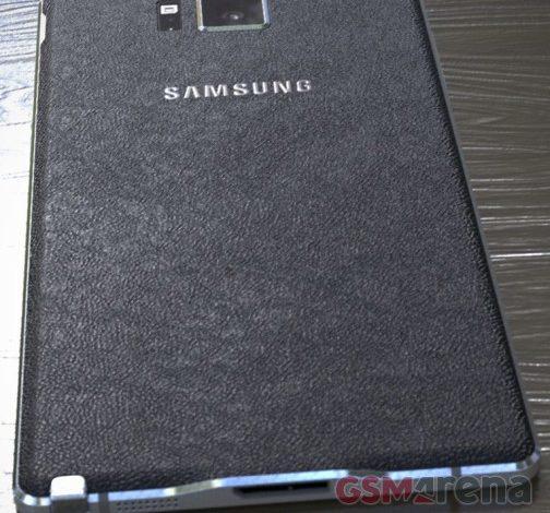 Galaxy Note 4'ten yepyeni fotoğraflar