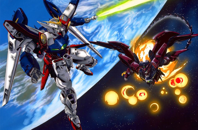 Japonya Uzay Gücü - gundam