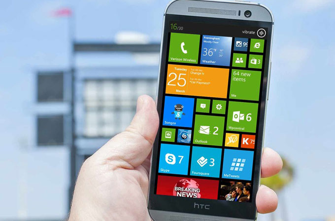 Windows'lu HTC One M8'in detayları belli oldu