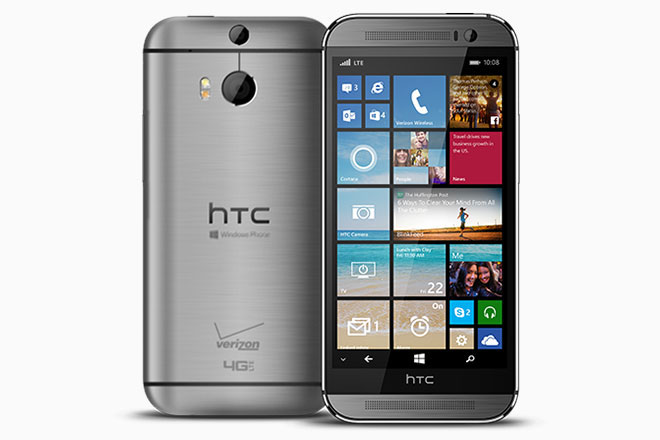 HTC One'ın Windows Phone modeli duyuruldu!