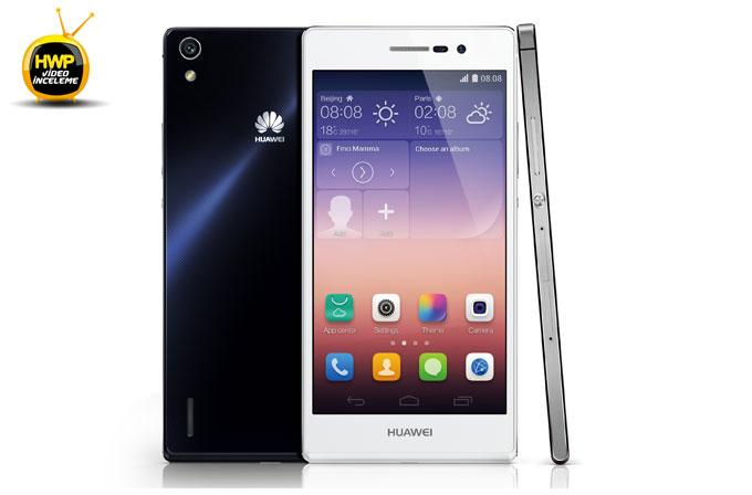 Huawei Ascend P7 Kutu İçeriği (Unboxing)