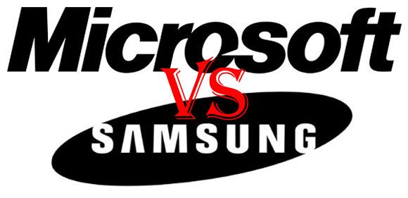 microsoft vs samsung