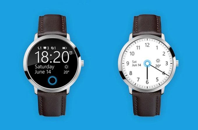 Microsoft Smartwatch için yapılan konsept çalışma epey güzel gözüküyor