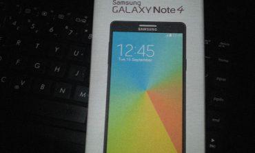 Galaxy Note 4'ün kutusu görüntülendi