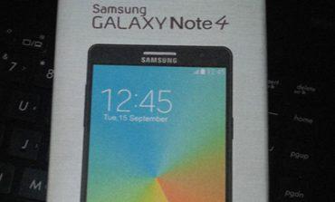 Galaxy Note 4'ün IFA görseli ortaya çıktı