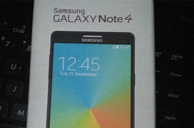 Galaxy Note 4'ün tüm özellikleri listelendi!