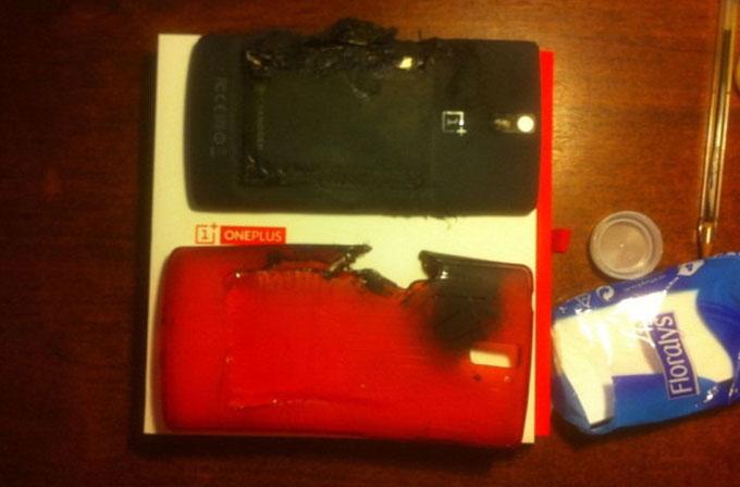 Patlayan telefonlar kervanına OnePlus One da katıldı