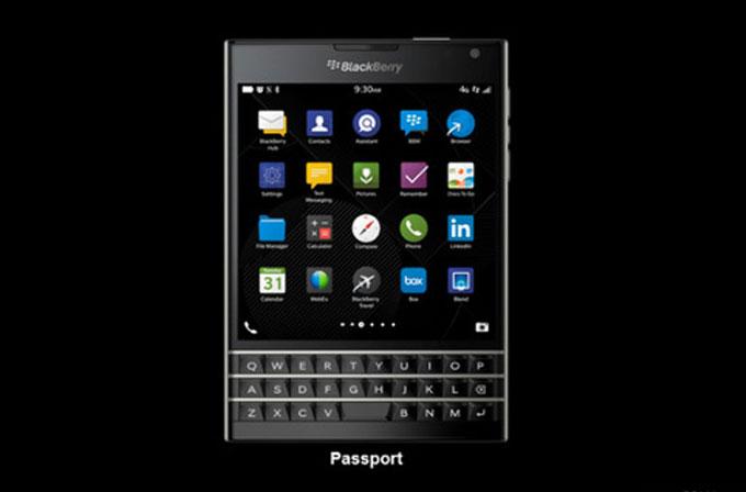 Blackberry Passport'un detayları belli oldu