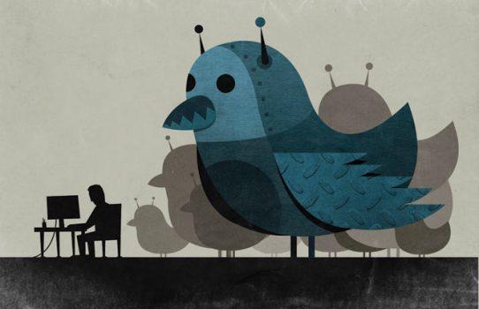 Twitter'ın aktif kullanıcısının %8.5'i bot