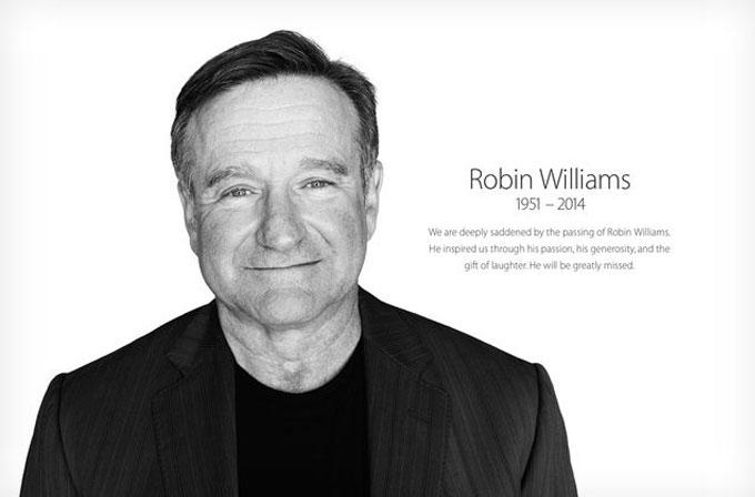 Apple'dan Robin Williams'a saygı duruşu
