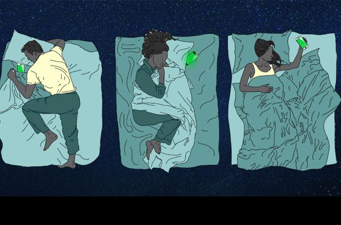 Gece akıllı telefonunuzla beraber uyumayın
