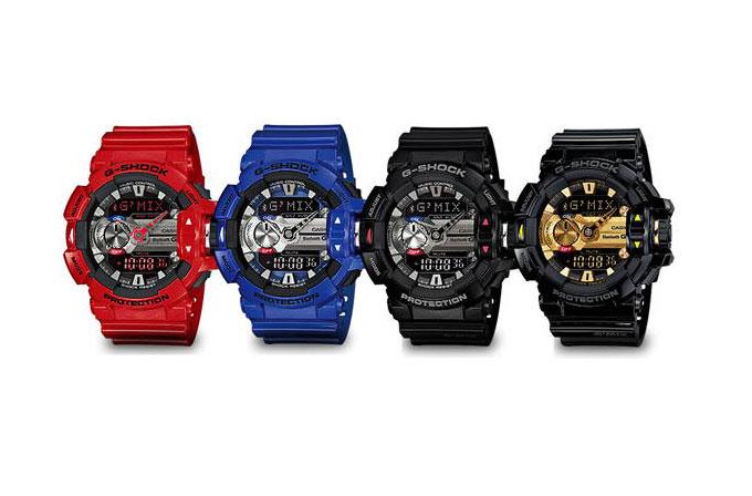 Şarkı tanıyabilen saat: Casio G-Shock GBA-400