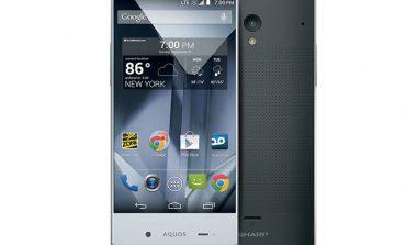 Sprint'den çerçevesiz telefon: Sharp Aquos Crystal