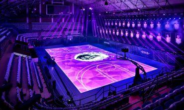 Nike'dan dünyanın ilk tam boy LED basket sahası