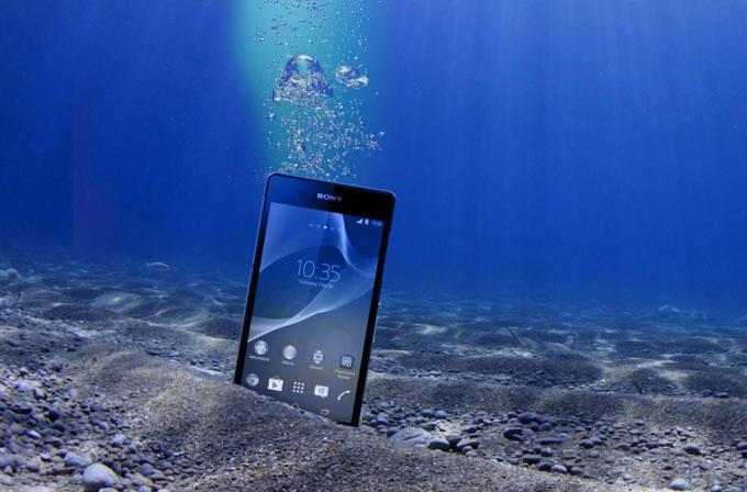 Xperia Z2, 6 hafta su altında kalmasına rağmen hayatta kaldı