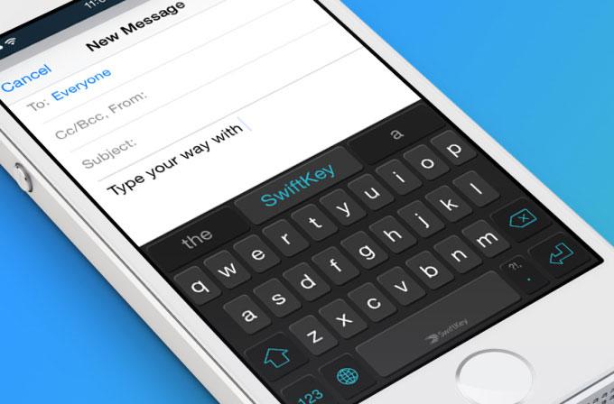 SwiftKey'in iOS versiyonu için yeni bir video yayınlandı