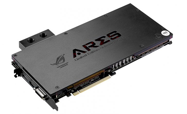 ASUS Republic of Gamers, Ares III'ü sunar