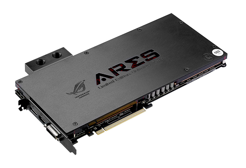 ROG Ares III'te ekran kartınızdan en iyi performansı alabilmenizi sağlayan ASUS'a özgü bir araç olan GPU Tweak de yer alıyor.