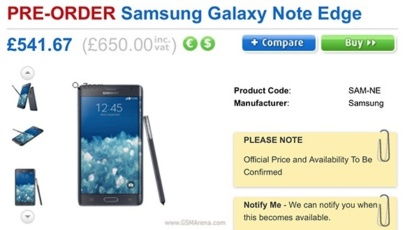 Samsung Galaxy Note Edge fiyatı çok can yakacak