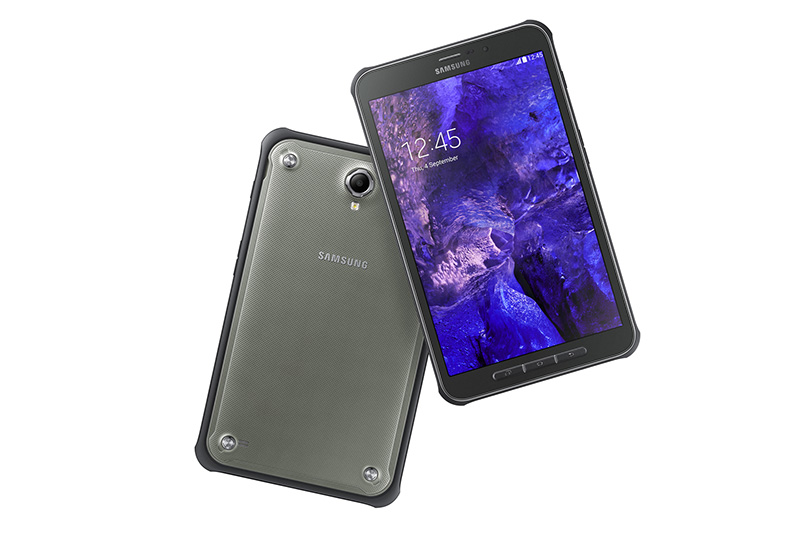 Güçlendirilmiş Galaxy Tab Active, profesyonel işlevsellik ve artırılmış güvenlik özellikleriyle iş hayatına özel olarak geliştirildi.