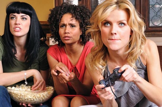 İngiltere'de kadınlar erkeklerden daha çok oyun oynuyor