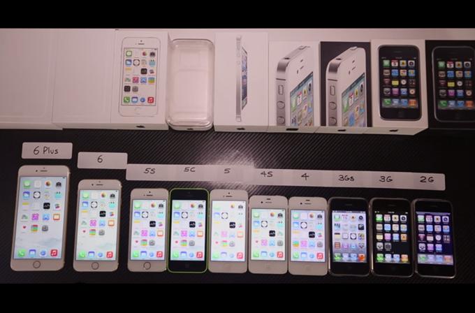 Video: Bütün iPhone'lar aynı anda hız testinde