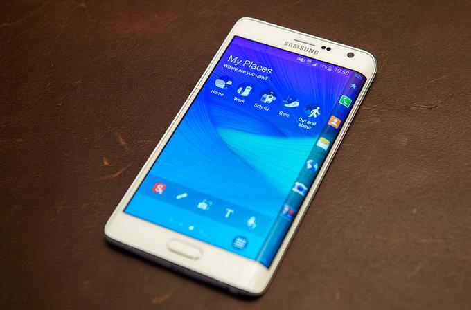 Samsung Galaxy Note Edge'in benchmark sonuçları belli oldu