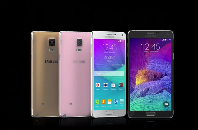 Video: Samsung Galaxy Note 4'ü tanıttı! İşte Note 4 özellikleri!