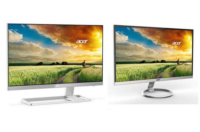 Acer'dan iki yeni çerçevesiz monitör