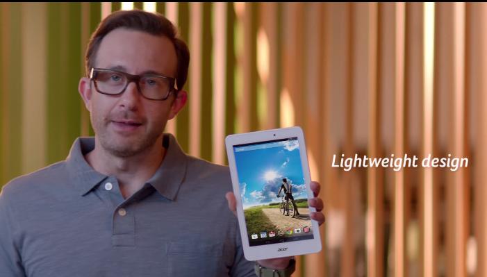 Acer, vücudunuzun neden Iconia Tab 8 istediğini açıklıyor