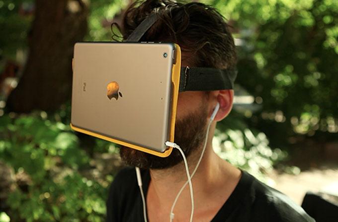iPad için sanal gerçeklik gözlüğü: AirVR