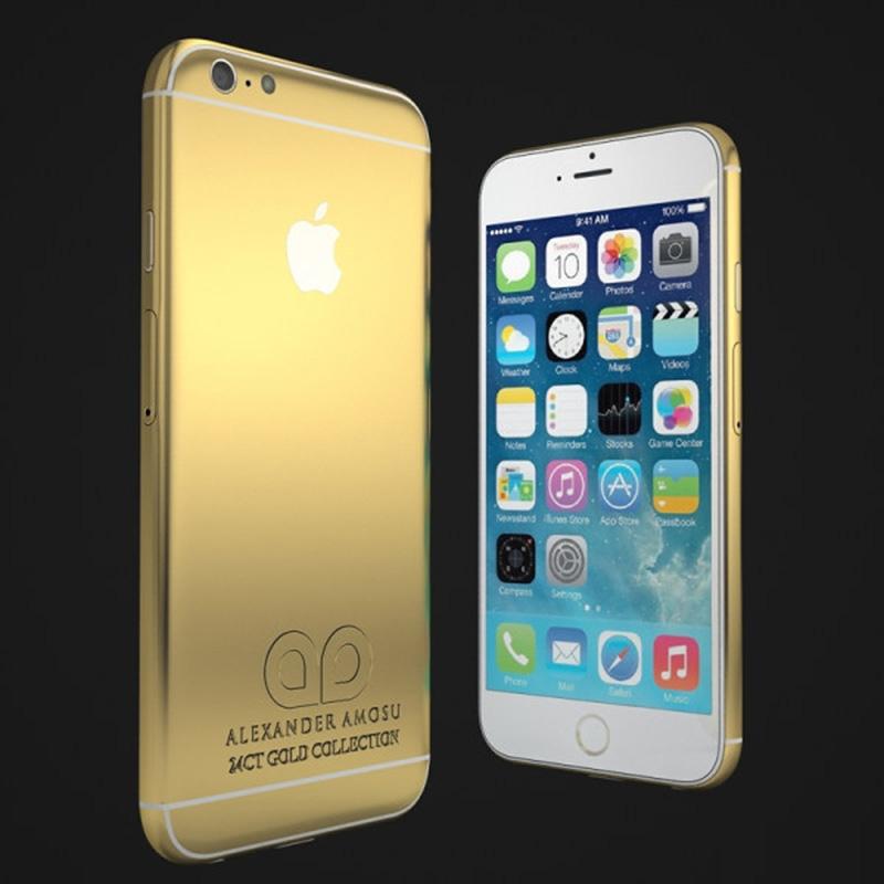 Alexander Amosu'nun altın iPhone 6'sı