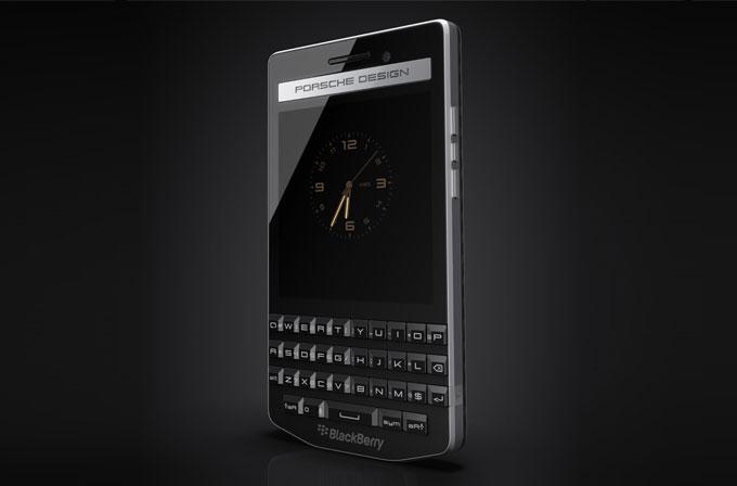 Blackberry Porsche Design P'9983 resmi olarak duyuruldu