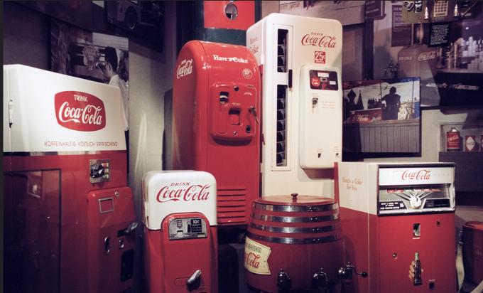 Coca-Cola, otomatlarına bedava Wi-Fi hizmeti getiriyor!