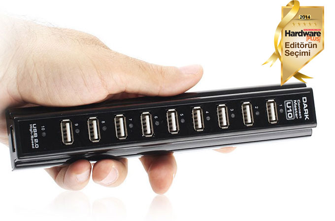 İnceleme: Dark Connect Master U10 USB Hub