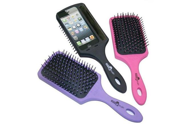 Bir bu eksikti: Selfie saç fırçası