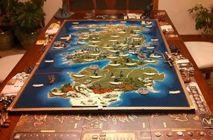Galeri: Dünyanın en iyi Game of Thrones haritası