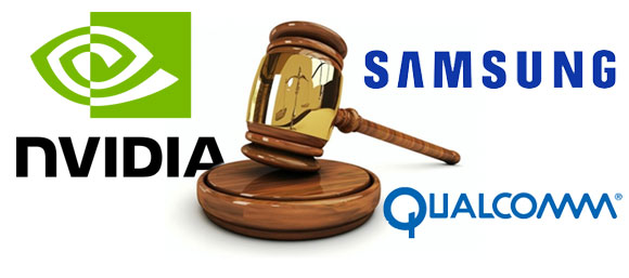 nvidia vs. samsung - qualcomm