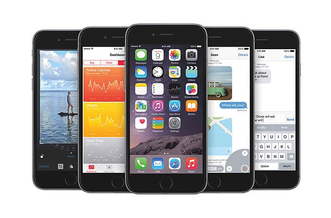 Görsel karşılaştırmalarla iOS 7 vs iOS 8