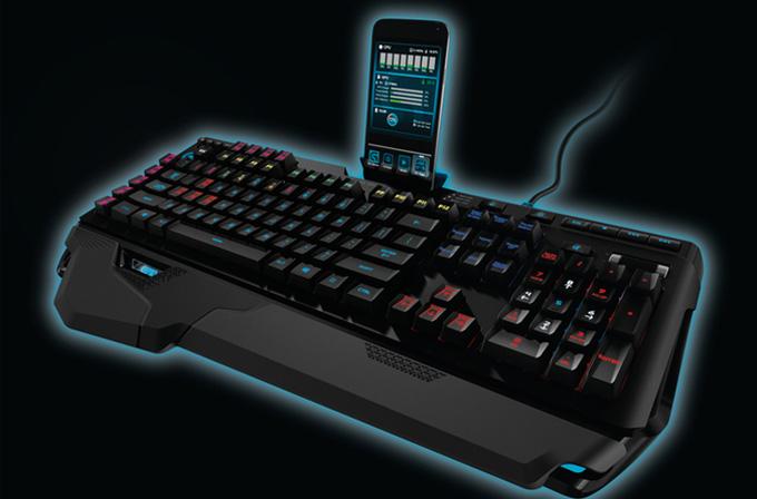 Logitech'ten iPhone ve Android cihazlar için standı olan mekanik klavye