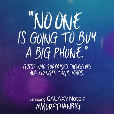 Samsung Apple'ın pahbletine bu şekilde karşılık verdi