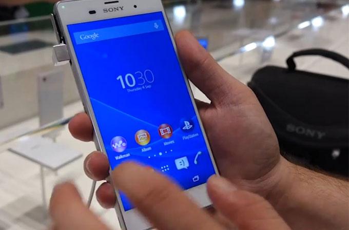 IFA 2014: Sony Xperia Z3 ilk bakış