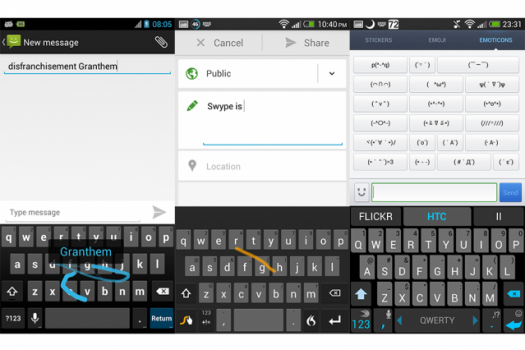 Uygulamanın Android versiyonundan bir ekran görüntüsü