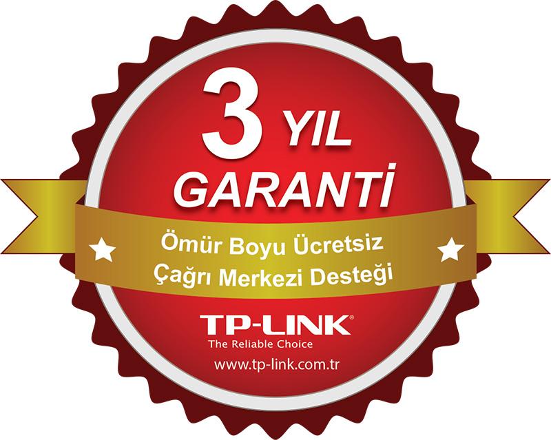 TP-LINK, Türkiye'de satılan tüm TP-LINK ürünlerine, garanti süresi bittikten sonra da 'ücretsiz' destek hizmeti sunuyor.